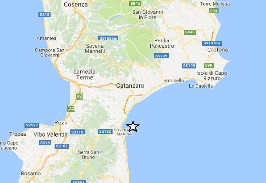 Terremoto vicino Norcia, scossa di magnitudo 3.2