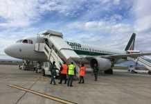 Aeroporto dello Stretto Alitalia