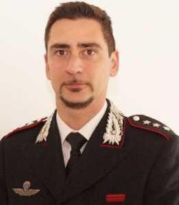 Il nuovo comandante della compagnia carabinieri di Palmi, capitano Lorenzo Lega