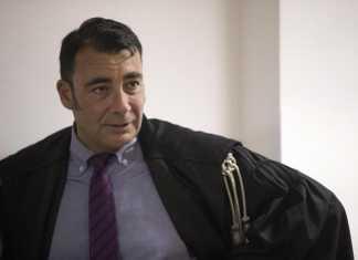 Il pm Eugenio Albamonte durante il processo contro i fratelli Occhionero