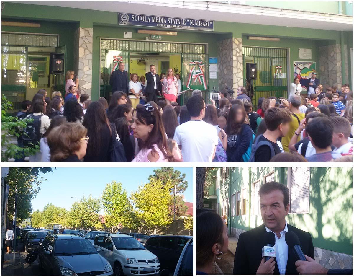 Mario Occhiuto riapertura scuola via Negroni
