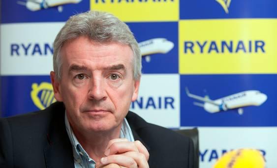 Il ceo di Ryanair Michael O'Leary