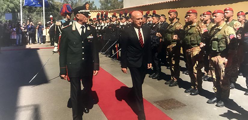 Minniti Calabria Carabinieri
