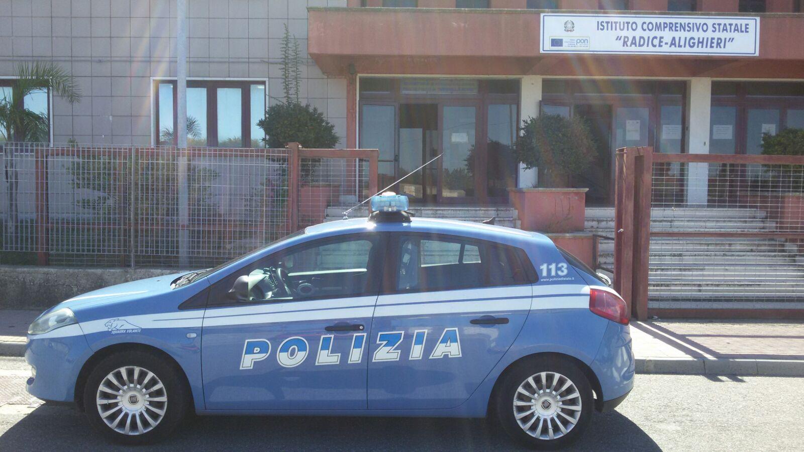 Posto fisso polizia reggio Arghilla
