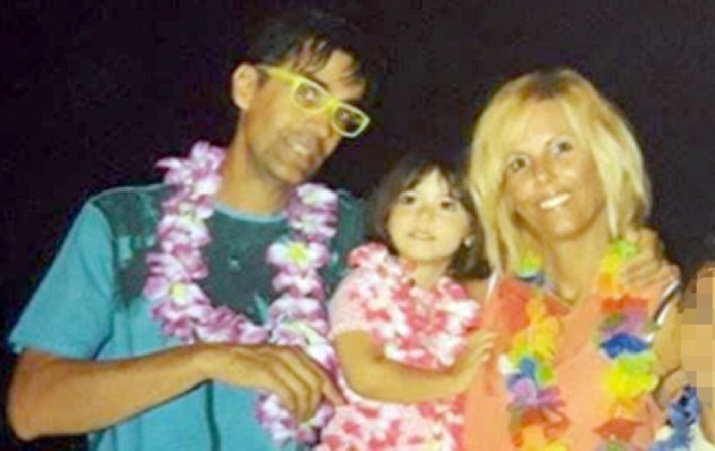 Sofia Zago insieme ai genitori