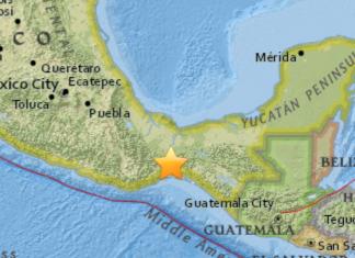 Terremoto Oaxaca Messico