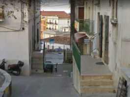 Via Zuppetta a Ischitella dov'è avvenuto l'agguato alla ragazzina (Street view)
