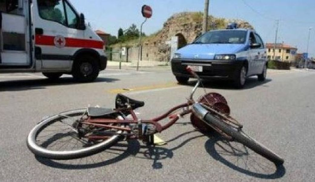 bici pirata incidente