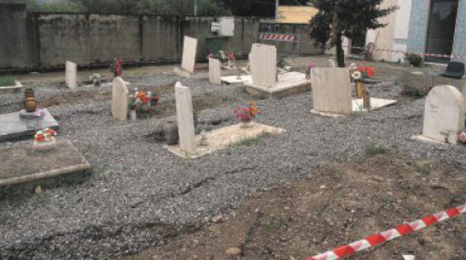 esumazioni cimitero