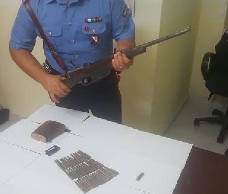 fucile scandale trovato a Antonio Piperato
