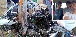 incidente India guida mentre è in diretta Facebook