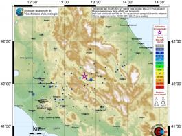 sisma provincia Aquila
