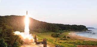 test missili Corea del Nord