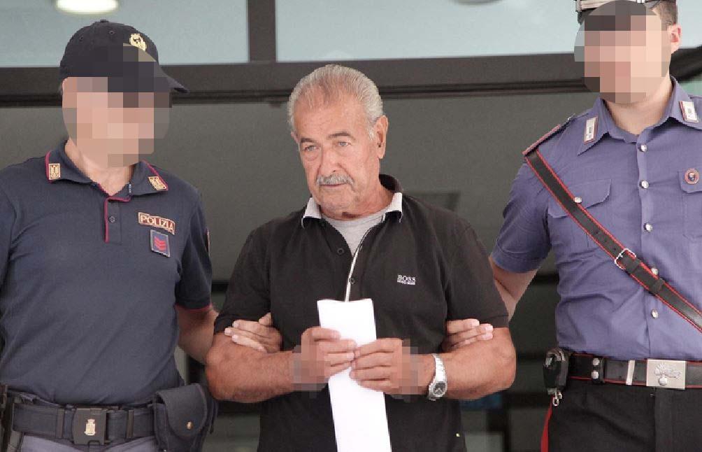 L'arresto di Rocco Santo Filippone del clan Piromalli