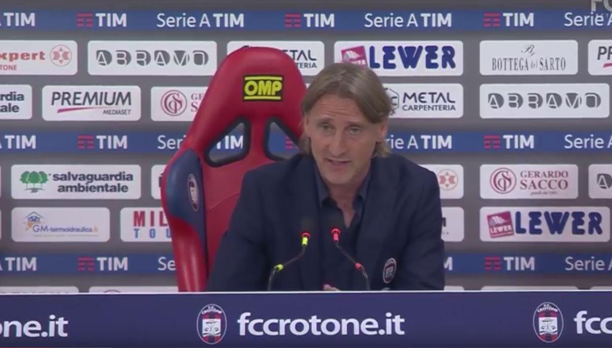 Davide Nicola dopo Crotone Torino