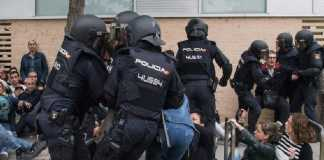 Guardia civil spagnola Catalogna