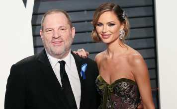 Harvey Weinstein e la moglie Georgina Chapman