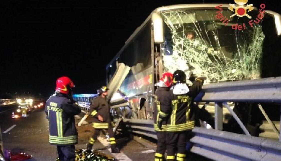 Incidete A2 autobus Federico