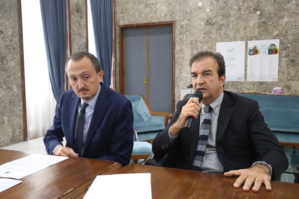 Luciano Vigna e Mario Occhiuto