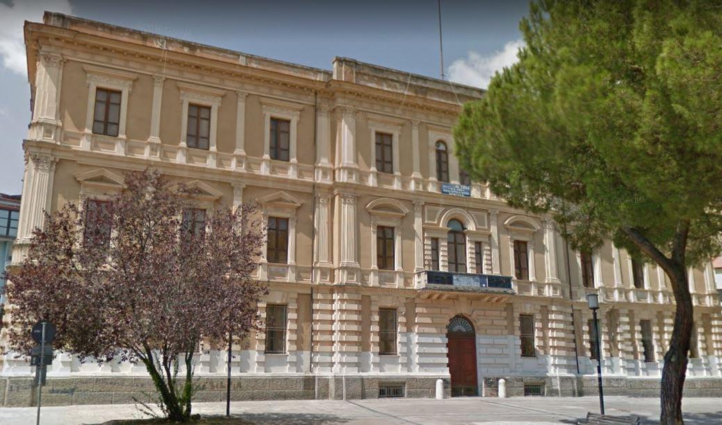 """La scuola media """"GB Vico"""" di piazza Cappello a Cosenza"""