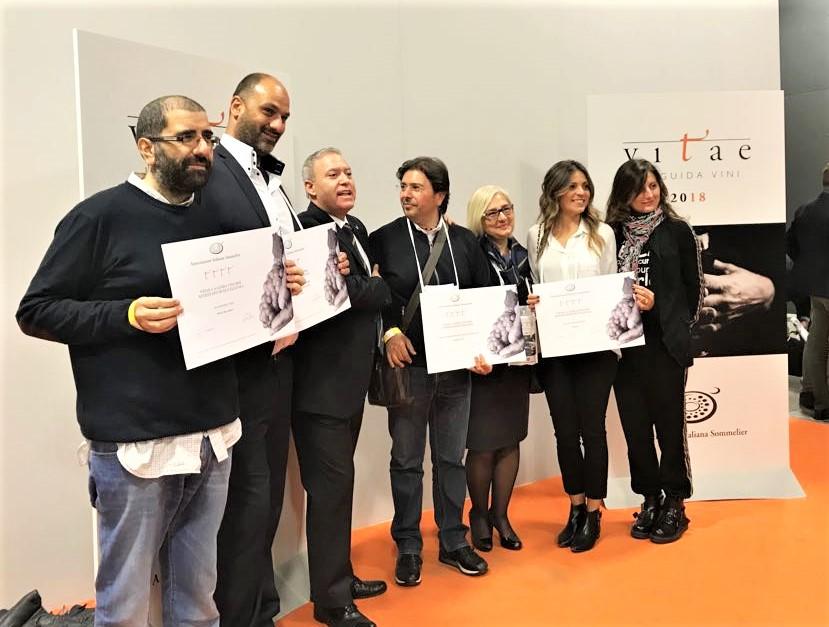 Vitae 2018 premiazione Calabria