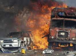 Camion bomba a Mogadiscio
