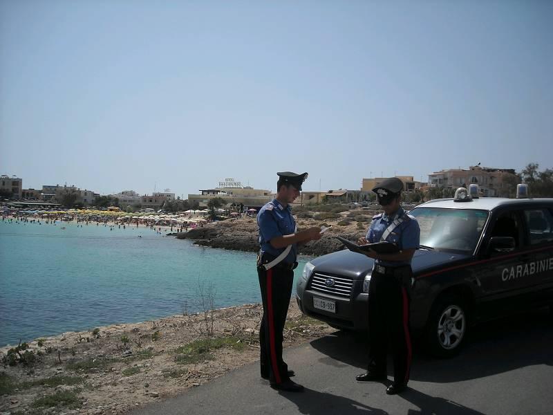 carabinieri di lampedusa