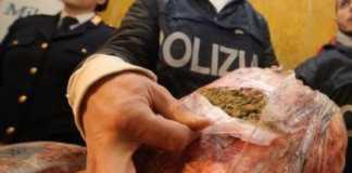 marijuana zaino polizia