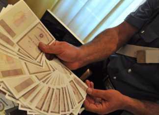 stamperia clandestina documenti falsi