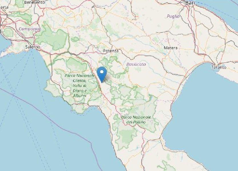 terremoto Padula Basilicata