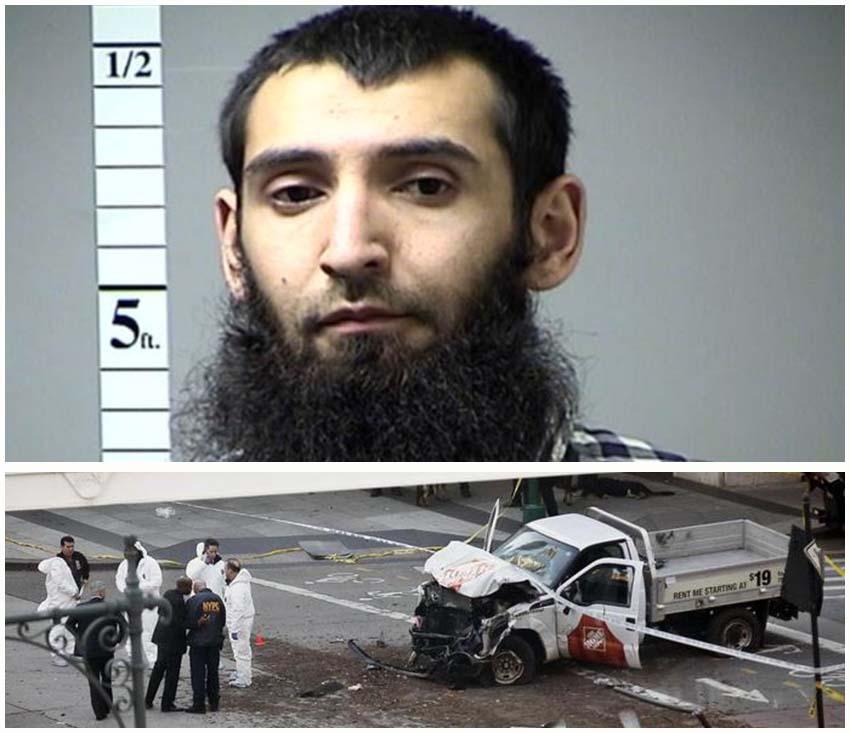 l'attentatore di New York Sayfullo Habibullaevic Saipov, uzbeko di 29 anni