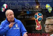 Qualif. Russia 2018: Italia-Svezia