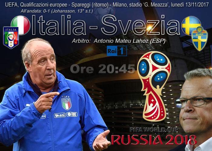 Italia-Svezia, Ventura spera nella vittoria