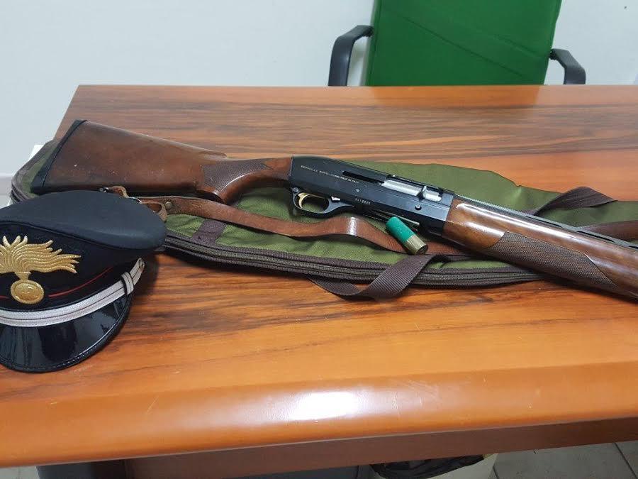 Morano Calabro, a caccia di cinghiali con arma e cartucce vietate
