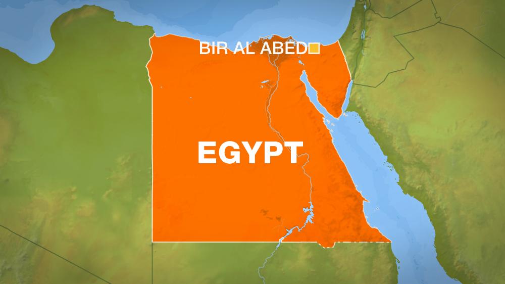 Mappa Egitto attentato Moschea