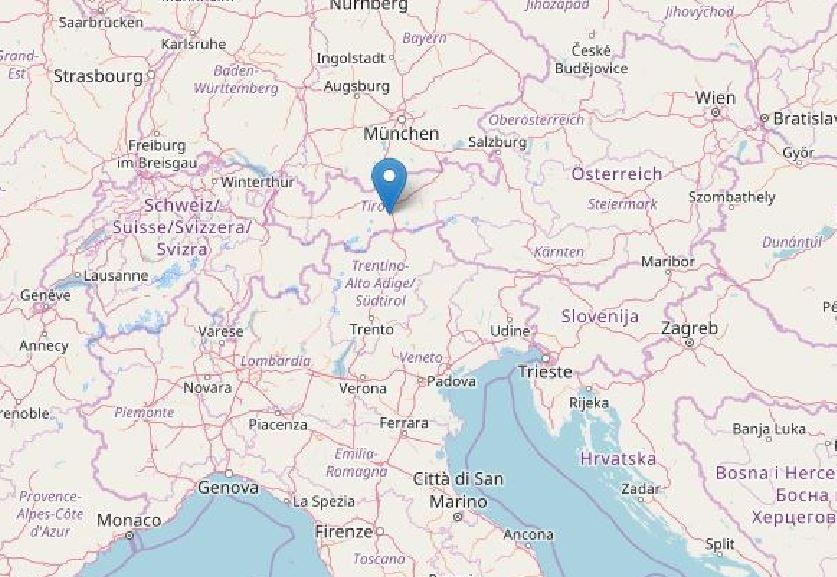 terremoto Italia Austria