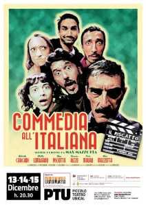Commedia all'italiana Max Mazzotta