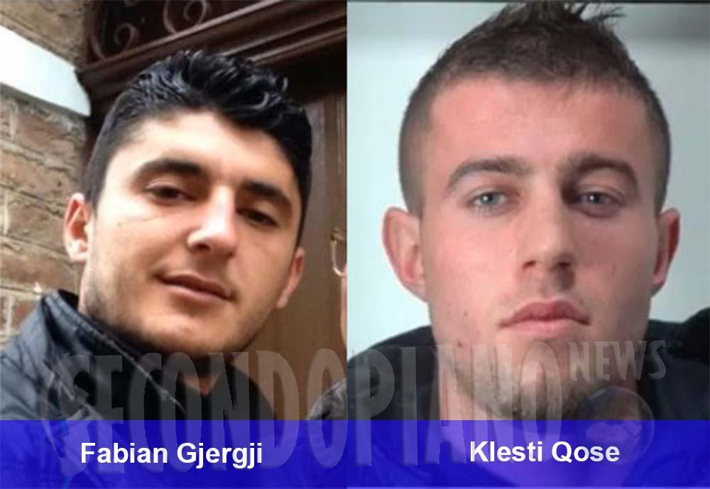 Fabian Gjergji e Klesti Qose, i due albanesi arrestati dalla Polizia a Castrovillari