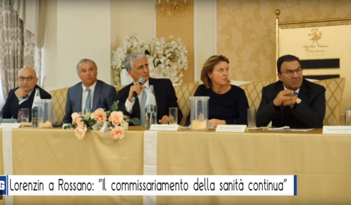 Lorenzin Gentile sanità Calabria