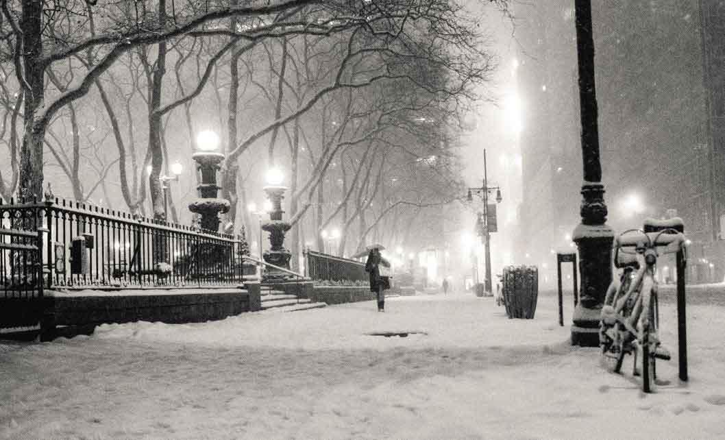 Maltempo neve parco allerta meteo al sud