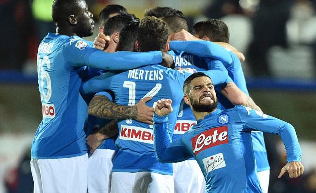 Crotone Napoli 0-1