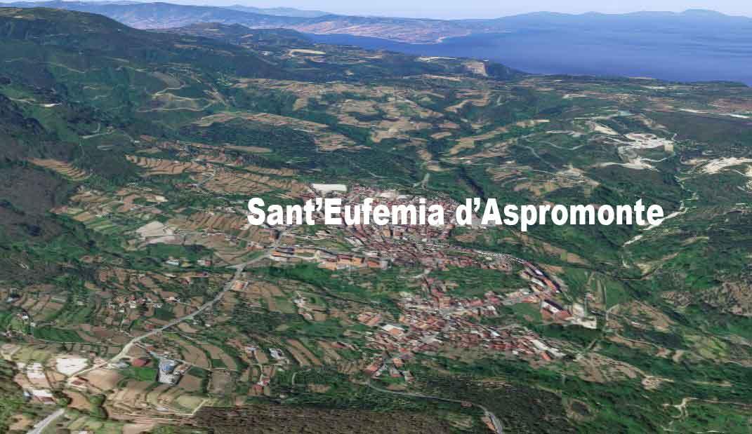 Sant'Eufemia d'Aspromonte centro dov'è morto Francesco Antonio Garzo