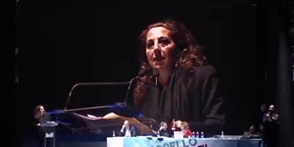 L'intervento di Wanda Ferro a Trieste
