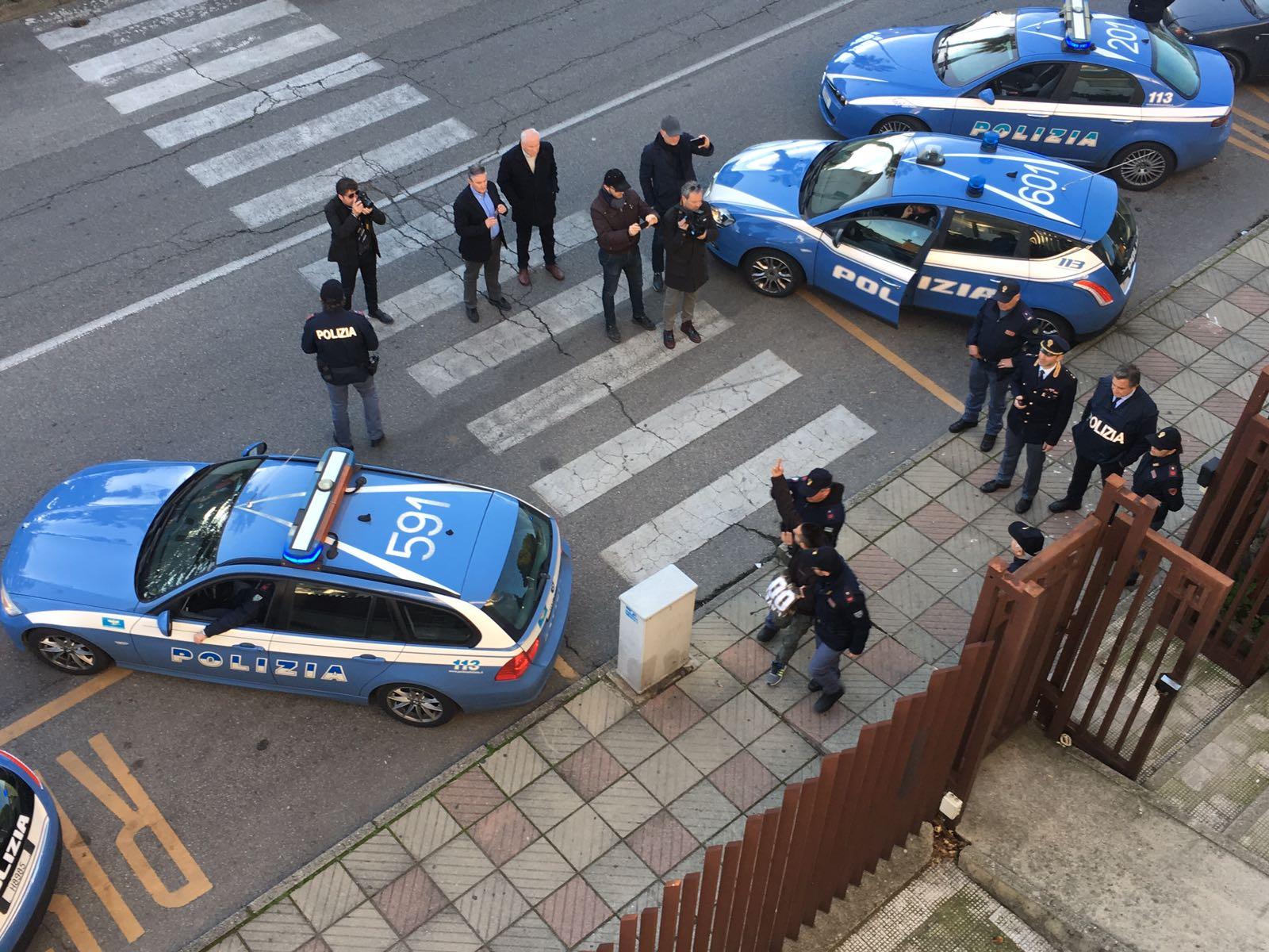 Traffico di droga, estorsione e rapina, 7 arresti tra Castrovillari e Rossano