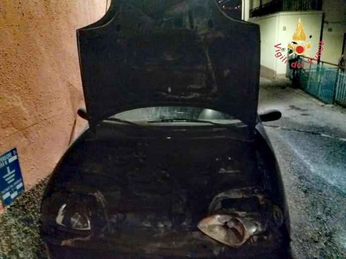 Incendiata auto Giampaolo Mungo Catanzaro