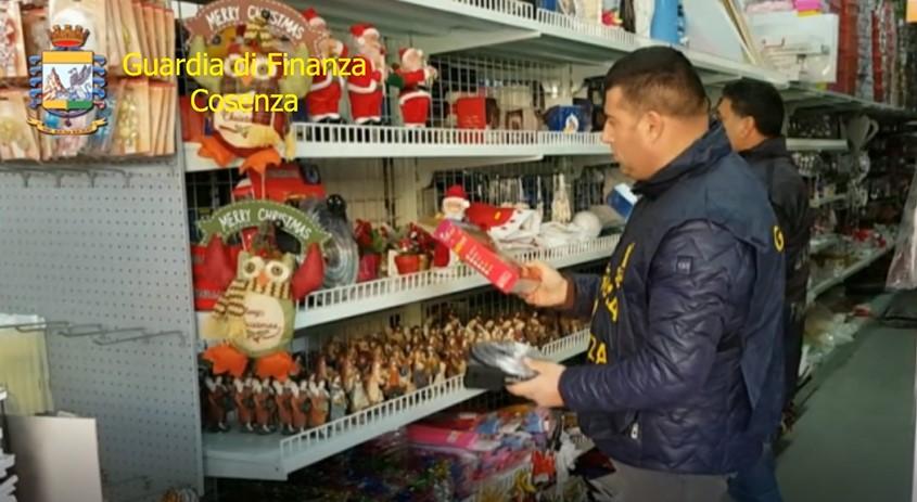 finanza cosenza luminarie cinesi
