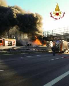 Incidente A21 Brescia