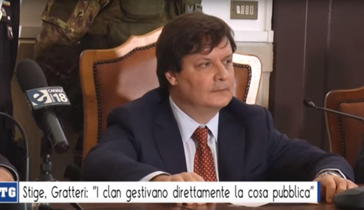 Il procuratore aggiunto della Dda di Catanzaro Vincenzo Luberto commenta operazione stige