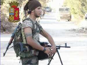 Saged Fayek Shebl Ahmed in azione di combattimento in Siria