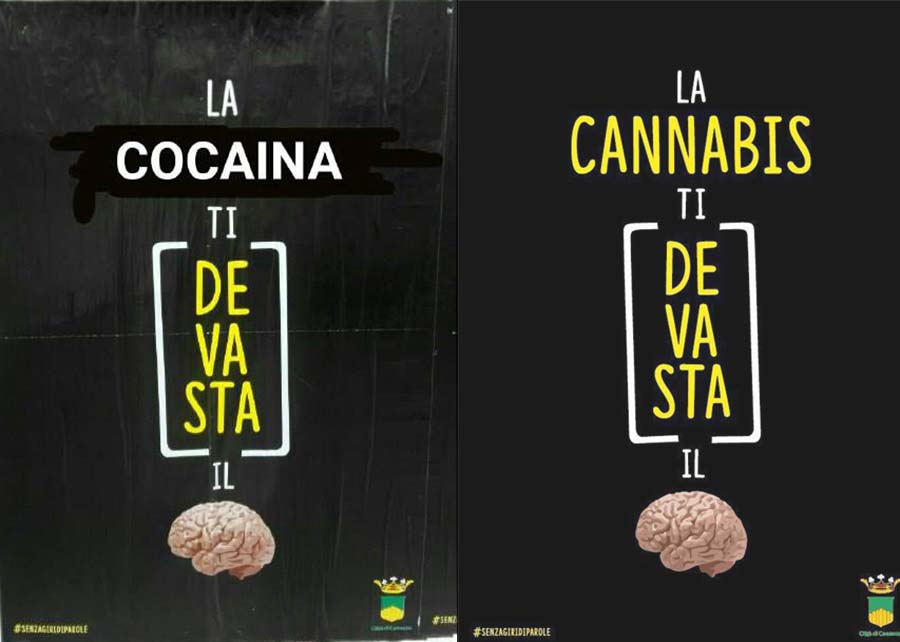 campagna antidroga e alcool cosenza